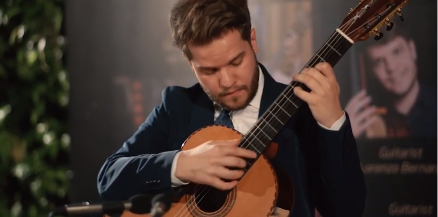 The Legend of Novecento - Ennio Morricone played by Lorenzo Bernadl on a Swallow Guitar C910