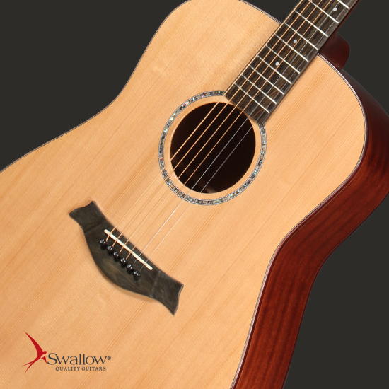 Swallow Acoustic Guitar D312